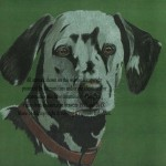 dalmation pet portrait private commission