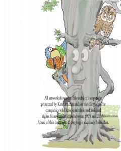 parrot & owl discuss tree judges